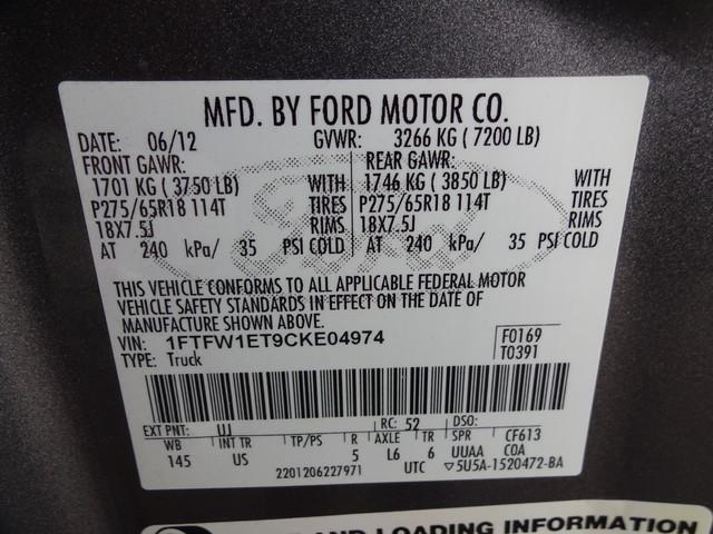 2012 Ford F-150 XLT Corpus Christi, Texas 51