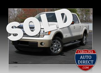 2012 Ford F-150 Lariat-NAV-ROOF-ECO-CREW! Mooresville , NC