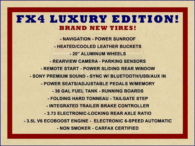 2012 Ford F-150 FX4 Luxury Edition SuperCrew 4X4 - NAV - SUNROOF! Mooresville , NC 1