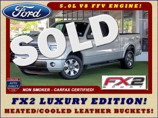 2012 Ford F-150 FX2 LUXURY EDITION SuperCrew RWD Mooresville , NC