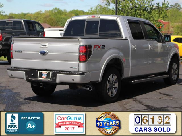2012 Ford F-150 FX2 LUXURY EDITION SuperCrew RWD Mooresville , NC 2