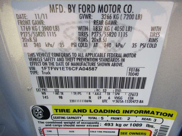 2012 Ford F-150 Platinum Plano, Texas 39