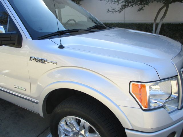 2012 Ford F-150 Platinum Plano, Texas 3