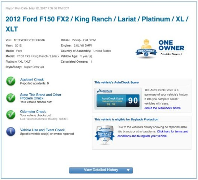 2012 Ford F-150 Lariat San Antonio , Texas 11