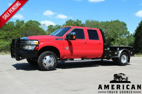 2012 Ford F-350 Lariat - 4x4 - FLATBED in Liberty Hill , TX
