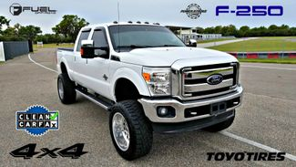 2012 Ford F250 6.7L DIESEL CLEAN CARFAX SUPER DUTY LIFTED 4x4 LARIAT FUEL WHEELS TOYO | Palmetto, FL | EA Motorsports in Palmetto FL
