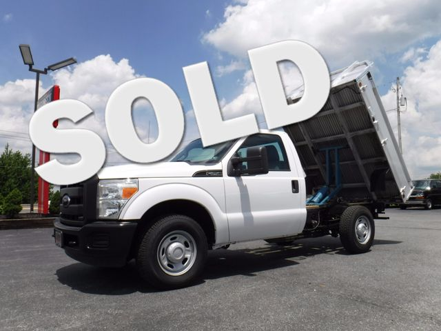 2012 Ford F250 8FT Aluminum Flatbed Dump 2wd in Ephrata PA