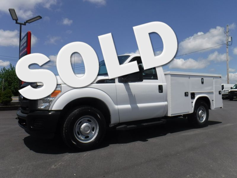 2012 Ford F250 Regular Cab 2wd with New 8' Knapheide Utility Bed in Ephrata PA