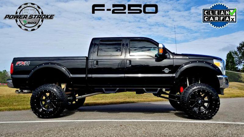 2012 Ford F250 6.7L DIESEL CLEAN CARFAX SUPER DUTY Lariat LIFTED  | Palmetto, FL | EA Motorsports in Palmetto FL