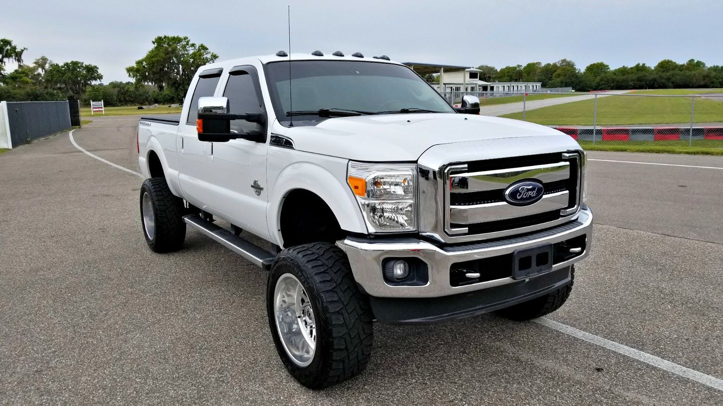 ... 2012 Ford F250 6.7L DIESEL CLEAN CARFAX SUPER DUTY LIFTED 4x4 LARIAT |  Palmetto, 2