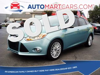 2012 Ford Focus SEL | Nashville, Tennessee | Auto Mart Used Cars Inc. in Nashville Tennessee