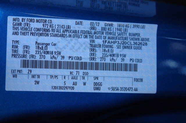 2012 Ford Focus Titanium Phoenix, AZ 39