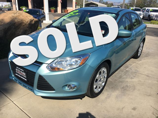 2012 Ford Focus SE Buy smart knowing this vehicle had only one owner which studies show result in
