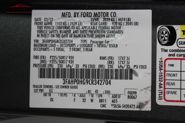 2012 Ford Fusion SE Merrillville, Indiana 45