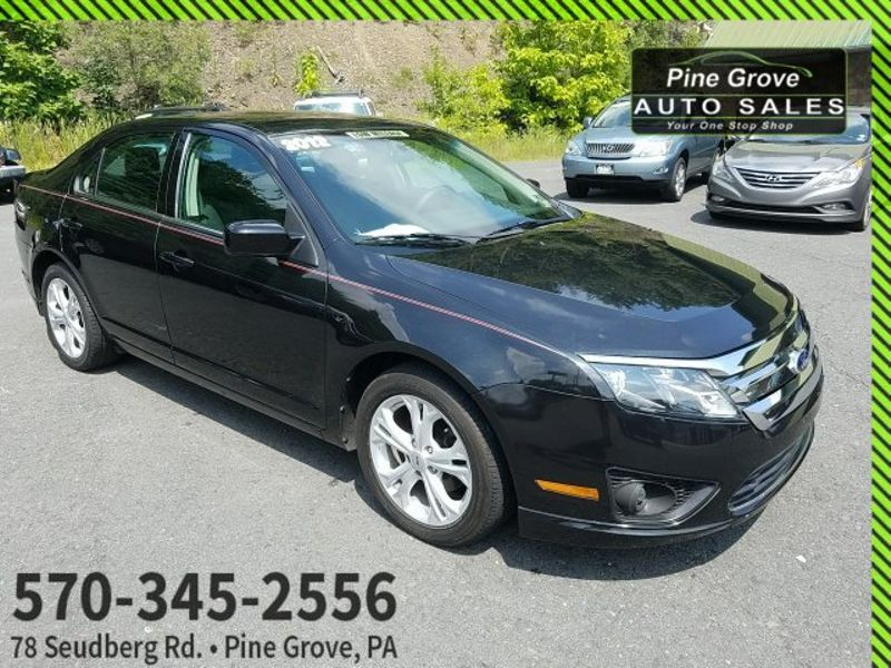 2012 Ford Fusion SE | Pine Grove, PA | Pine Grove Auto Sales in Pine Grove, PA
