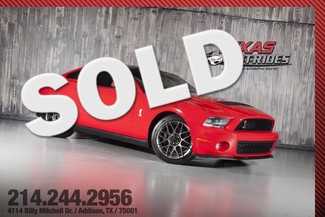 2012 Ford Mustang Shelby GT500 Performance Pkg. Glass Roof in Addison