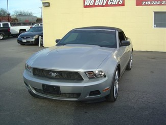 2012 Ford Mustang V6 Convertible San Antonio, Texas 1