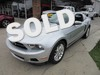 2012 Ford Mustang V6 Premium LEATHER MICROSOFT SYNC SHAKER AUDIO ACCENT LIGHTING CLEAN CARFAX ONE OWNER!!! Thibodaux, Louisiana