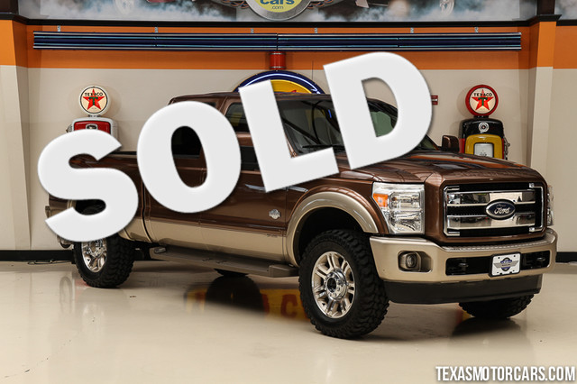 2012 Ford Super Duty F-250 King Ranch 4x4 This Carfax 1-Owner 2012 Ford Super Duty F-250 Pickup Ki