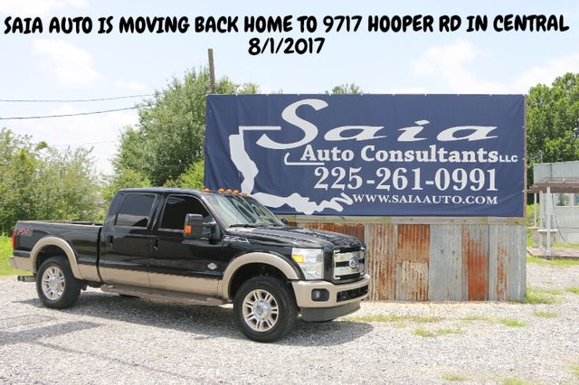 2012 Ford SUPER DUTY F-250  KING RANCH  NO ACCIDENT ONE OWNER SUNROOF NAV | Baton Rouge , Louisiana | Saia Auto Consultants LLC in Baton Rouge  Louisiana