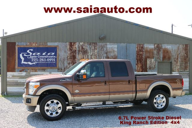 2012 Ford F250 Crew Cab 6.7 Diesel 4wd King Ranch HTD AC SEATS TOW PKG LOADED CLEAN CARFAX  SERVICED DETAILED READY TO GEAUX | Baton Rouge , Louisiana | Saia Auto Consultants LLC in Baton Rouge  Louisiana
