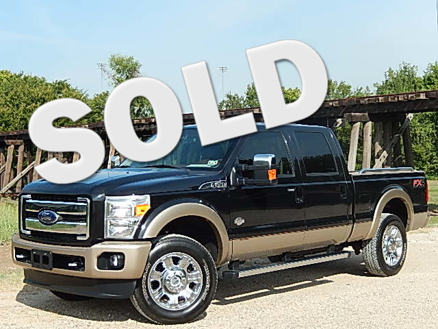 2012 Ford Super Duty F-250 King Ranch Excellent buy The retail NADA on this truck is 4587500