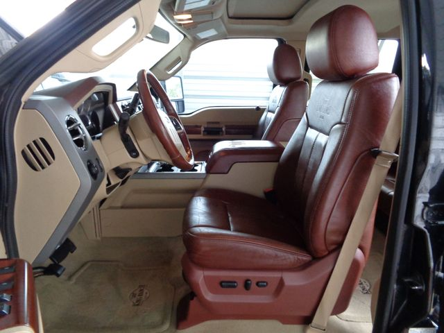 ford f250 king ranch interior cheap ford f king ranch with platinum white color towing boat. Black Bedroom Furniture Sets. Home Design Ideas