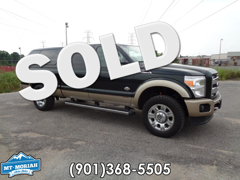2012 Ford Super Duty F-250 Pickup King Ranch NAVI DVD SUNROOF in Memphis Tennessee