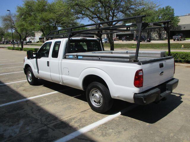 2012 Ford Super Duty F-250 Pickup XL Tool Box Ladder Rack Plano, Texas 10