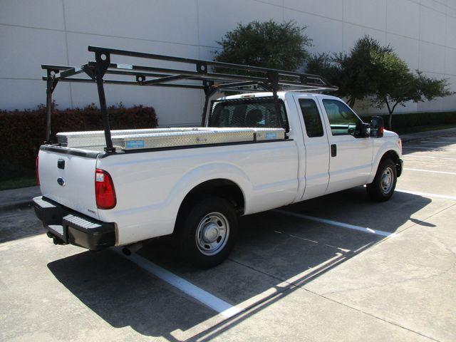 2012 Ford Super Duty F-250 Pickup XL Tool Box Ladder Rack Plano, Texas 2