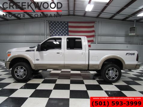 2012 Ford Super Duty F-250 Pickup King Ranch FX4 4x4 Diesel Lifted Nav Roof 20s B&W in Searcy, AR