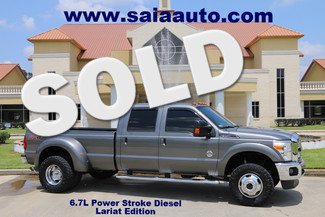 2012 Ford F 350 Larait Crew Cab 4wd Dually 6.7 Diesel Navi Roof Leveled 35s in Baton Rouge  Louisiana