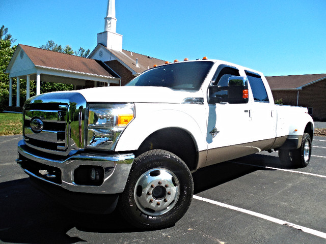 2012 Ford Super Duty F-350 DRW Pickup Lariat 6.7L Leesburg, Virginia 1