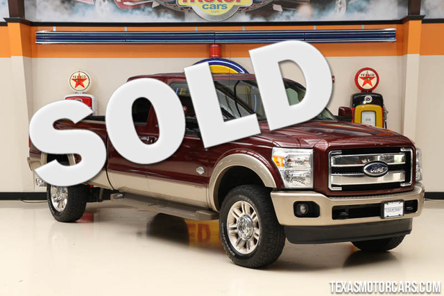 2012 Ford Super Duty F-350 King Ranch This Carfax 1-Owner 2012 Ford Super Duty F-350 SRW King Ranc