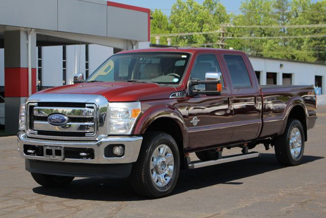 2012 Ford Super Duty F-350 SRW Pickup LARIAT ULTIMATE EDITION Crew Cab Long Bed 4x4 FX4 Mooresville , NC 23