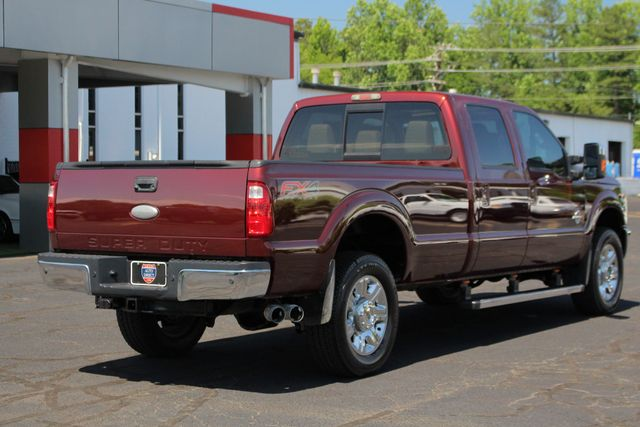 2012 Ford Super Duty F-350 SRW Pickup LARIAT ULTIMATE EDITION Crew Cab Long Bed 4x4 FX4 Mooresville , NC 26