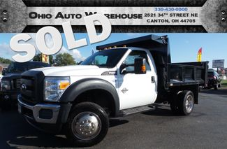 2012 Ford Super Duty F-550 DRW Chassis Cab 4x4 DUMP BED PowerStroke Diesel 1-Own We Finance | Canton, Ohio | Ohio Auto Warehouse LLC in  Ohio