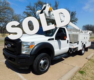 2012 Ford F-550,Bucket Truck, One Owner.Fleet Maintained XL Irving, Texas