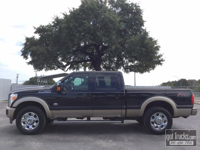 2012 Ford Super Duty F250 Crew Cab King Ranch FX4 6.7L Power Stroke 4X4 | American Auto Brokers San Antonio, TX in San Antonio Texas