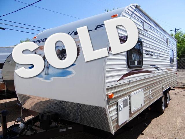2012 Forest River Grey Wolf 19RR Toy Hauler Trailer | Colorado Springs, CO | Golden's RV Sales in Colorado Springs CO
