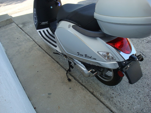 2012 Fosti Free Bird 150 scooter Daytona Beach, FL 8