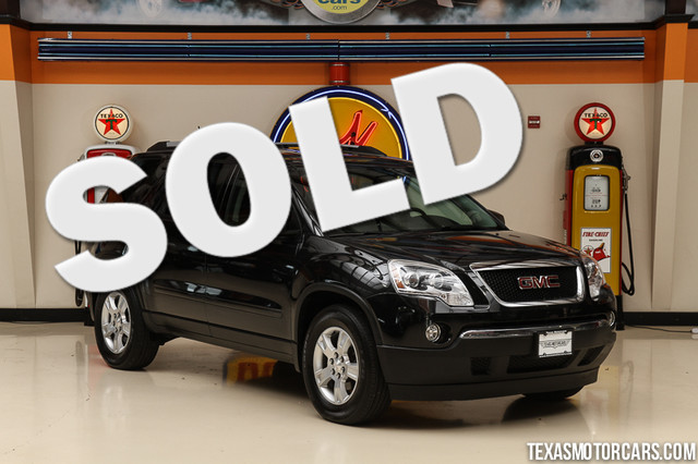 2012 GMC Acadia SL This Carfax 1-Owner 2012 GMC Acadia SL is in great shape with only 51 110 mile