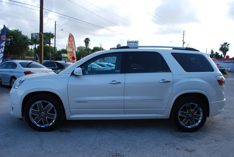 2012 GMC Acadia Denali  Brownsville TX  English Motors  in Brownsville, TX