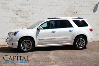 2012 GMC Acadia Denali with 3rd Row Seats, Navigation, Backup Cam, BOSE Audio & Tow Package in Eau Claire