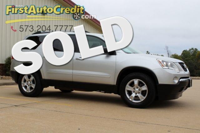 2012 GMC Acadia SL | Jackson , MO | First Auto Credit in Jackson  MO