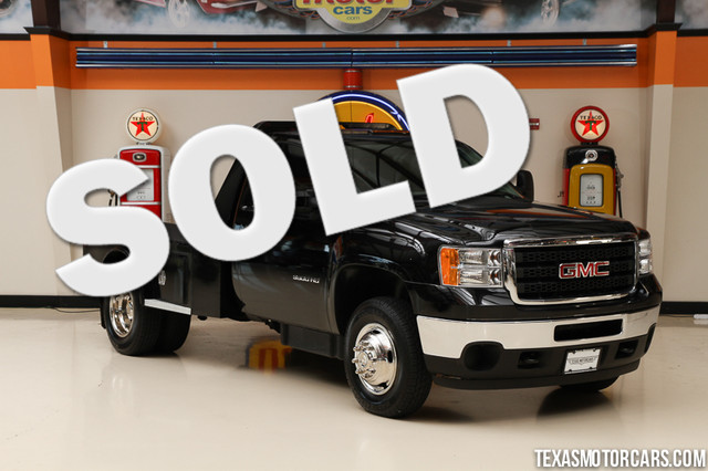 2012 GMC Sierra 3500HD Flatbed This Carfax 1-Owner 2012 GMC Sierra 3500HD Flatbed is in great shap