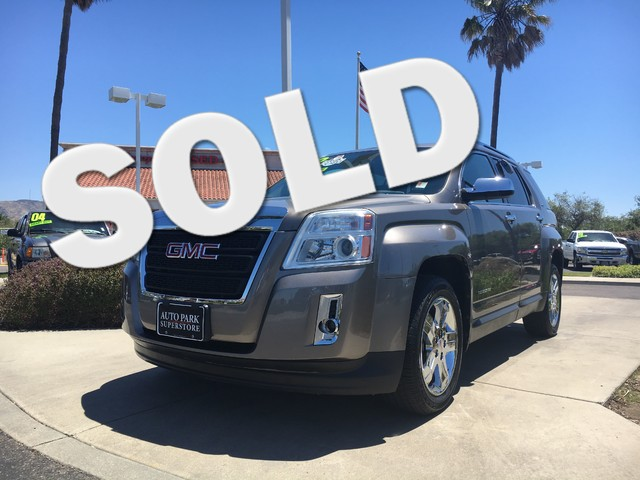 2012 GMC Terrain SLT-2 Buy smart knowing this vehicle had only one owner which studies show result