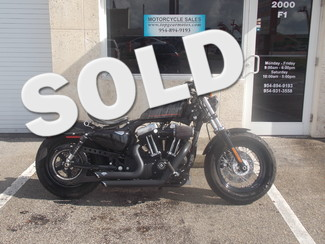 2012 Harley Davidson XL1200X Forty-Eight Dania Beach, Florida
