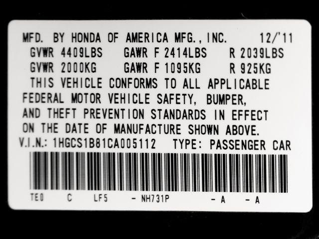 2012 Honda Accord EX-L Burbank, CA 25