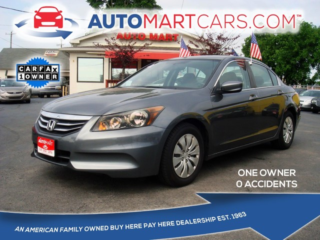 2012 Honda Accord LX | Nashville, Tennessee | Auto Mart Used Cars Inc. in Nashville Tennessee